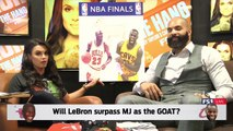 Joy Taylor and Carlos Boozer talk 2017 NBA Finals (Streamed Live on 5/29/17) | THE HANG