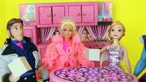 Campeur fou rendez-vous amoureux gelé va parodie Barbie double anna kristoff hans barbie rv barbie