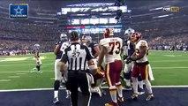 Ezekiel Elliott Eats Up Redskins Defense for 43 Yards & TD | Redskins vs. Cowboys | NFL