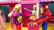 Et poupée poupées gelé aller va prison enfants musée homme araignée à Il Barbie disney disney