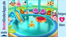 Application piscine la natation dr panda piscine pour les enfants énormes jeux de parc aquatique pour Androi