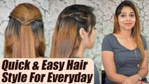 Hairstyle Tutorial: Side twisted Braids | Twisted style hairstyle | Boldsky