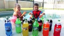 Et Béguin un soda eau enfants pour explosion soude défi coca mentos pepsi cola cola expériences