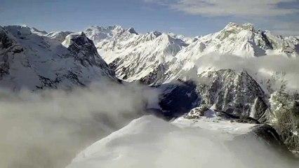 Pralognan-la-Vanoise en hiver : domaine skiable © Office de Tourisme de Pralognan