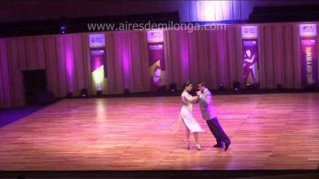 Mundial de tango 2016 Mauro A  Ramirez Katerina G  Veron  Clasif