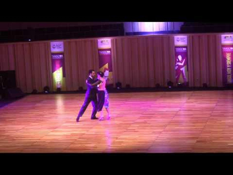 Mundial de Tango 2016 Ismael Ayala, Carolina Ayala, La Paz, Bolivia  Calif