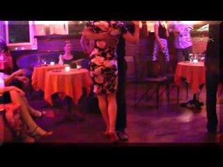 Zurich, Circulando por  milonga Garufa en Club Silvando, tango en Suiza