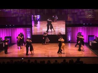 Mundial de tango 2017 Semifinal Pista Ronda 1