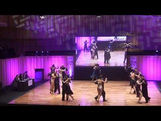Mundial de Tango 2017, Semifinal Pista Ronda 9