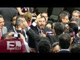 Diputados se agarran a golpes en cámara de diputados por caso Iguala / Titulares de la tarde