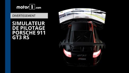 Test - Simulateur de pilotage dans une Porsche GT3 RS !