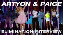 Elimination Interview- Artyon & Paige Thank America For Their Support - America's Got Talent 2017