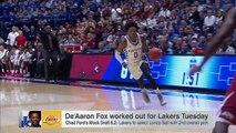 De'Aaron Fox Better For Lakers Than Lonzo Ball | SportsCenter | ESPN