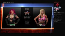 WWE2K17 SummerSlam 2017 Raw Womans Title Sasha Banks Vs Alexa Bliss