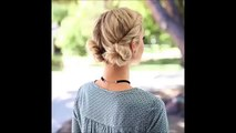 Facile coiffures pour tutoriel Des coiffures faciles de compilation de compilation quotidienne 201