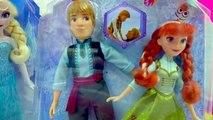 Biscuit poupée poupées gelé Princesse reine déballage vidéo Disney elsa anna kristoff hasbro