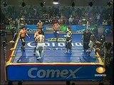 AAA-Sin Limite 2009.06.30 Cuautitlan Izcalli  05 Electroshock, Shiima Xion & Teddy Hart vs. Extreme Tiger, Jack Evans & La Parka