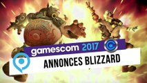 gamescom 2017 - Blizzard tease ses annonces du salon