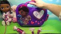Boîte de poupée énorme la musique animal de compagnie Ensemble chanter chanson son jouets Disney jr doc mcstuffins boom carrie