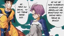 DB Manga chapter: Trunks the Story / Capitulo DB Manga: Trunks la Historia
