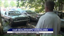 Two Virginia Car Dealerships Vandalized, Car Stolen