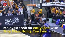 Highlights of Malaysia-Thailand SEA Games' basketball match