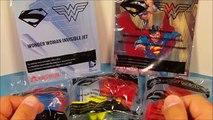 Et pour enfant des gamins repas Nouveau de de examen Ensemble jouets vidéo femme merveille Superman 5 wendys toys