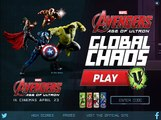 Edad Vengadores caos juego jugabilidad Nuevo de Informe Ultron caos global mundial Vengadores