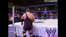 Hardcore Holly Vs The Big Show Brock Lesnar On Commentary