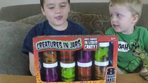 Crazy Candy eating Challenge. Gross candy snakes, lizards, and frogs. Hi friends:) Me and