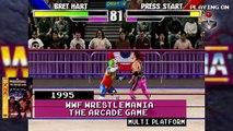 Wrestling Video Game Evolution | Bret Hart | Steel Cage Challenge to WWE 2K17