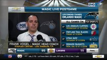 Frank Vogel Orlando Magic at Los Angeles Lakers 01/08/2017