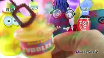 Attaque construire par par Oeuf mal domestiques pâte à modeler Vitesse jouets Coca cola lego surprise hobbykidstv
