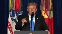 """""""Nous allons attaquer"""" : Trump annonce que les États-Unis resteront en Afghanistan"""