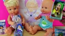El Delaware por un se 4 muñecas minimon las nuevas muñecas bebes colección con ropa colores juguetes