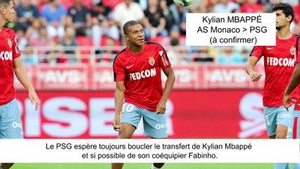 JT du Mercato (22/08/17) : Mbappé vers PSG, Di Maria vers Barcelone, Kondogbia à Valence...