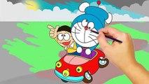 Coloring Pages of Doraemon- ドラえもん ぬりえ-Tô Màu Doremon và Nobita. Doraemon (Japanese: ドラえもん)