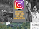 Steven Smith's Video Over Crowded Bangladesh Train Goes Viral