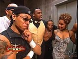 (720pHD): WCW Nitro 07/03/00 Tygress, The Filthy Animals & Ernest The Cat Miller Backstage