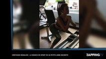 Cristiano Ronaldo : Sa petite-amie enceinte dévoile ses courbes pour une séance de sport (vidéo)