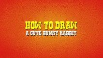 Un et un à un un à débutants lapin par par dessin animé dessiner dessin Comment lapin étape à Il tutoriel