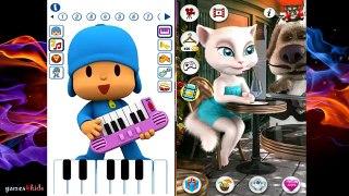Pour enfants mon Parlant a M video Angela pocoyo gameplay hd