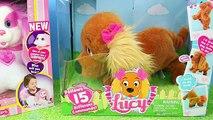 Et aboiement par par chiens poupées Nouveau chiot avec Surprise barbie rapunzel disneycartoys