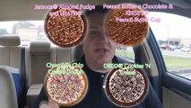 Crème de la glace Baskin robbins ☆ pizza polaire ☆ dessert pizza