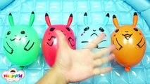 Couleur la famille doigt héros Apprendre avec Musique 6   ballons deau de forage super-héros   super ST ballon.