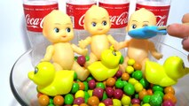 Baby Doll Bath Time M&Ms Chocolate Nursery Rhymes Finger Song