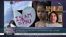 Comunidad musulmana en España marcha contra terrorismo