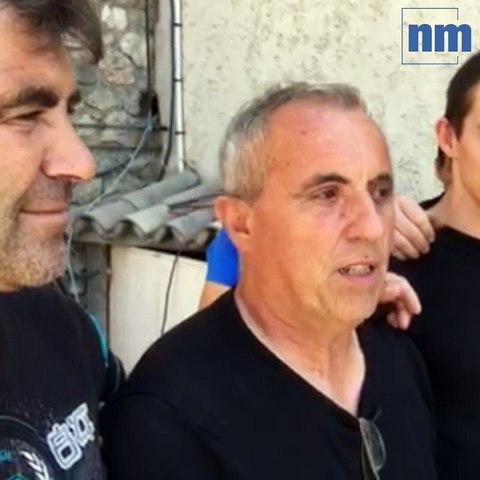 Incendie de Castagniers: grâce à un élan de solidarité, il redémarre son activité un mois après