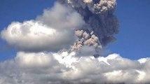 L'explosion impressionnante du volcan Popocatepetl au Mexique
