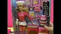 Et boulangerie être peut peut carrière chat Jai le minou animal de compagnie Barbie dessert chef barbie disneycartoys